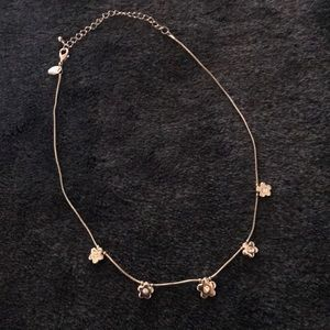 Lia Sophia flower child necklace